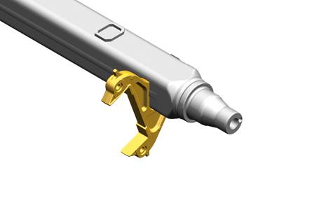 Obecnie: dzięki kompaktowej budowie zacisk hamulca mocowany bezpośrednio do korpusu osi.