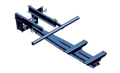Kozły, montowane na ramie ciągnika, umożliwiają przyłączenie dyszla przyczep centralnoosiowych oraz nisko położonych dyszli przeczep obrotnicowych. Mogą być wyposażone w zaczep do odpowiedniego oczka dyszla.