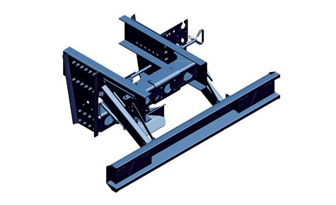 Poprzeczki tylne do montażu wewnątrz podłużnic ramy ciągnika, wykonane dla typowych wymiarów ram.
